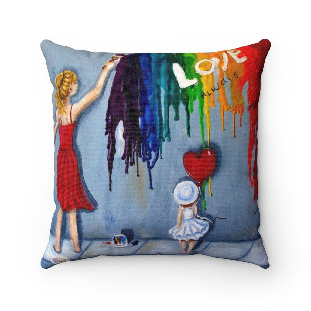 Love Always Throw Pillow