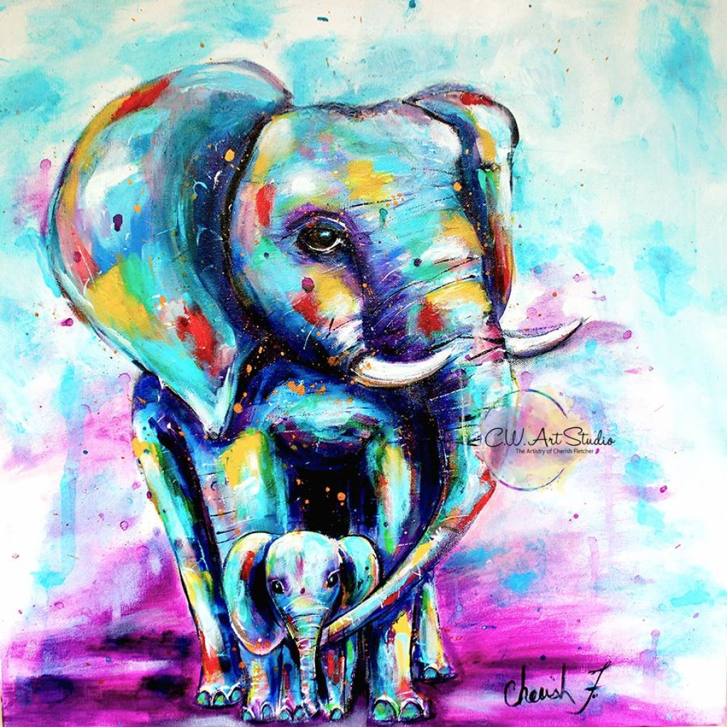 Oliphant Love Giclée Art Print- Artist Signed Matted