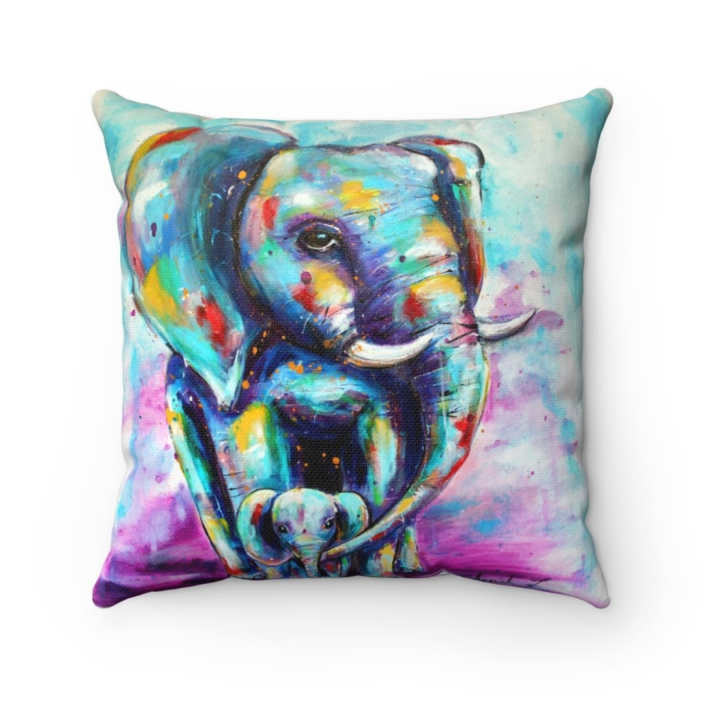 Oliphant Love Throw Pillow