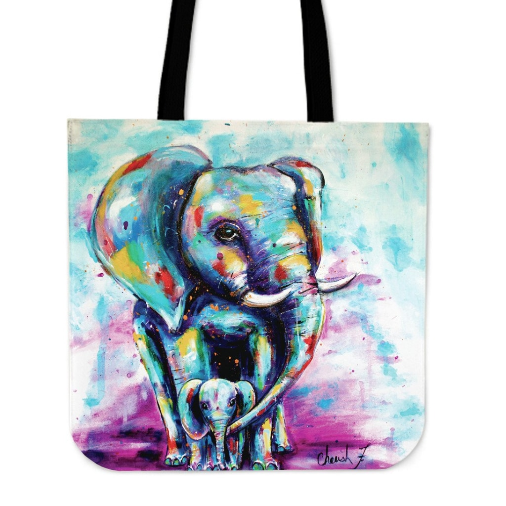 Oliphant Love Tote Bag - C.w. Art Studio