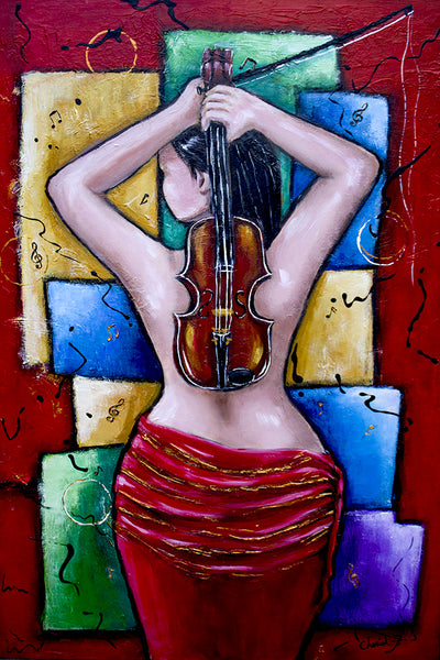 Passion of Music Original Painting
