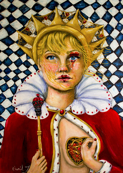Queen of broken Hearts -Original Painting
