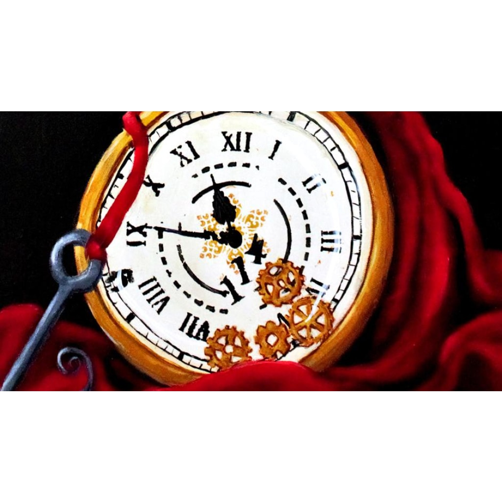 Time Thief Giclée Art Print- Artist Signed