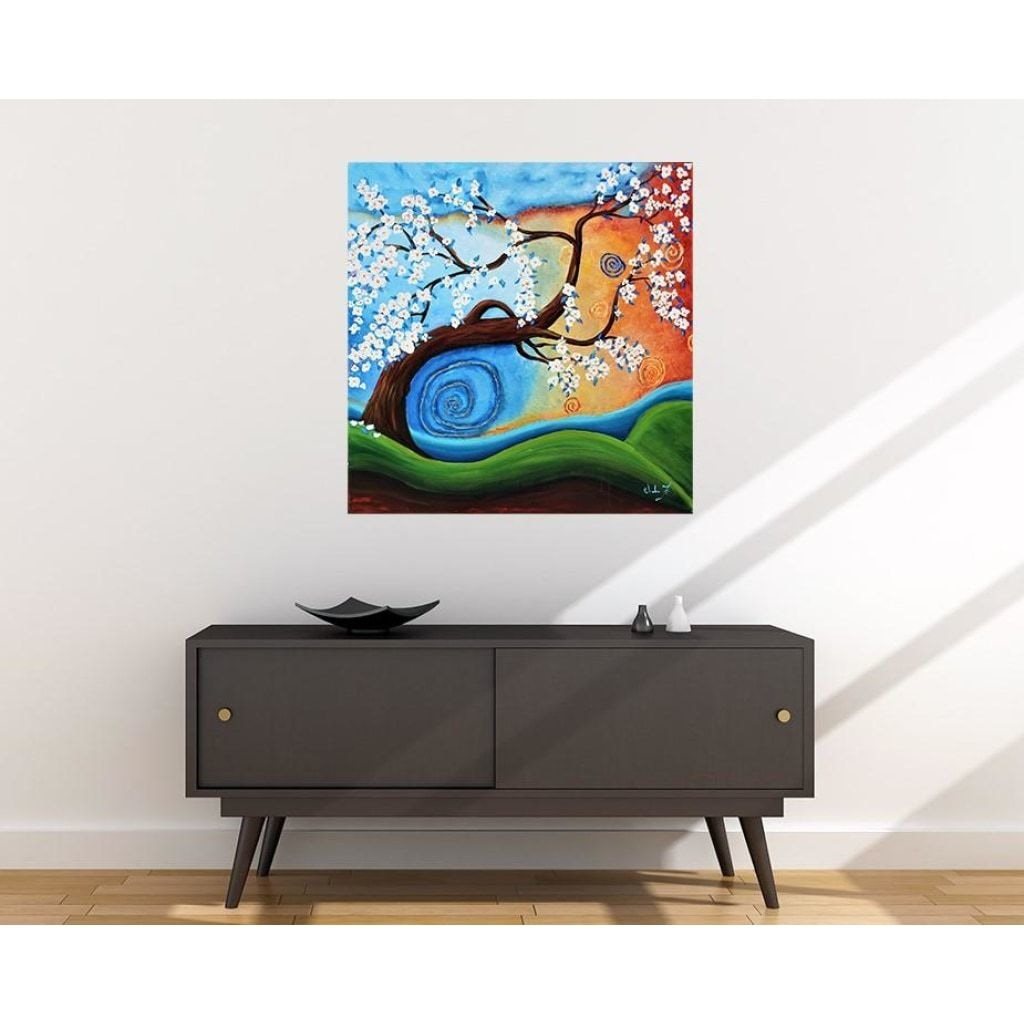 Winds of Whimsy Fabric Wall Poster - C.W. Art Studio