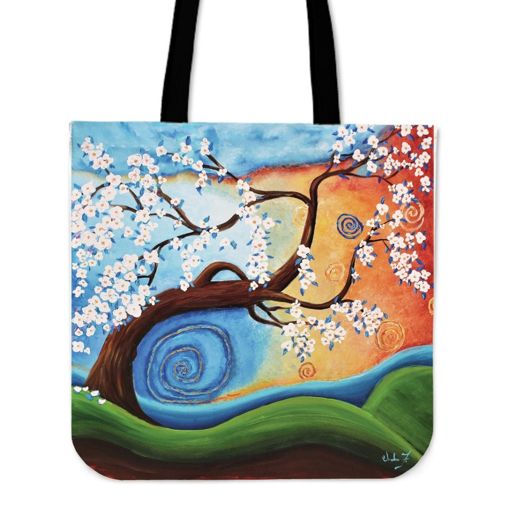 Winds Of Whimsy Tote Bag - Tote Bags C.w. Art Studio