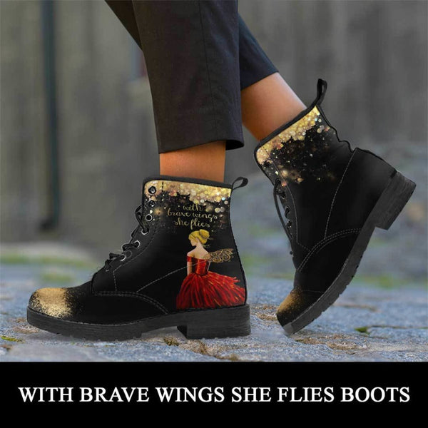 With Brave Wings and Fairy Dust Boots - C.W. Art Studio