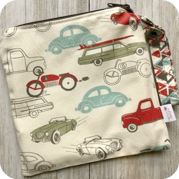 (Made to Order) *NEW* Retro Rides Wet Bag