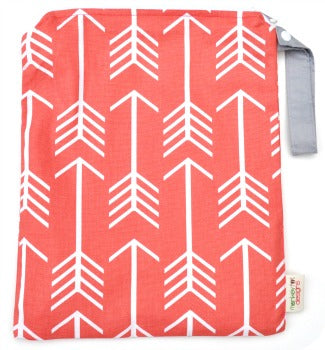 (Made to Order) *NEW* Coral Arrows Wet Bag