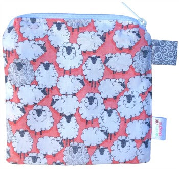 (In Stock) Eyes on Ewe Wet Bag in Geranium