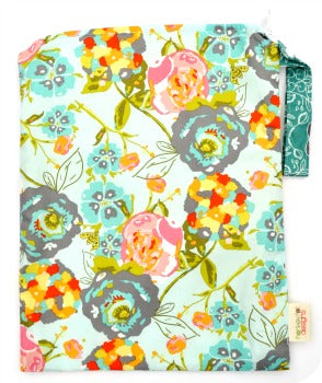 (In Stock) *NEW* Garden Rocket Turquoise Wet Bag