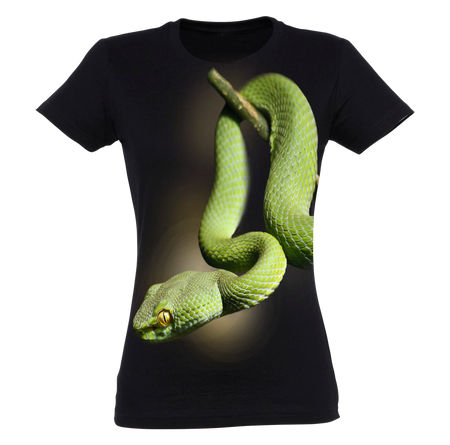 Green Mamba T-Shirt Women