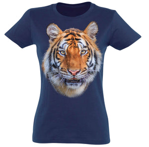 Tiger Face T-Shirt Women