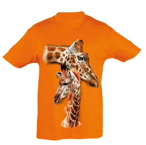 Giraffes T-Shirt Kids