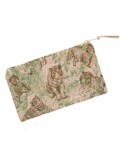 Nature Lover Tiger Pouch Bag