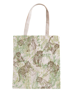 Nature Lover Tiger Tote Bag