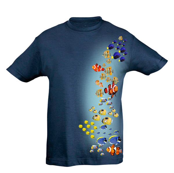 Fish Colors T-Shirt Kids