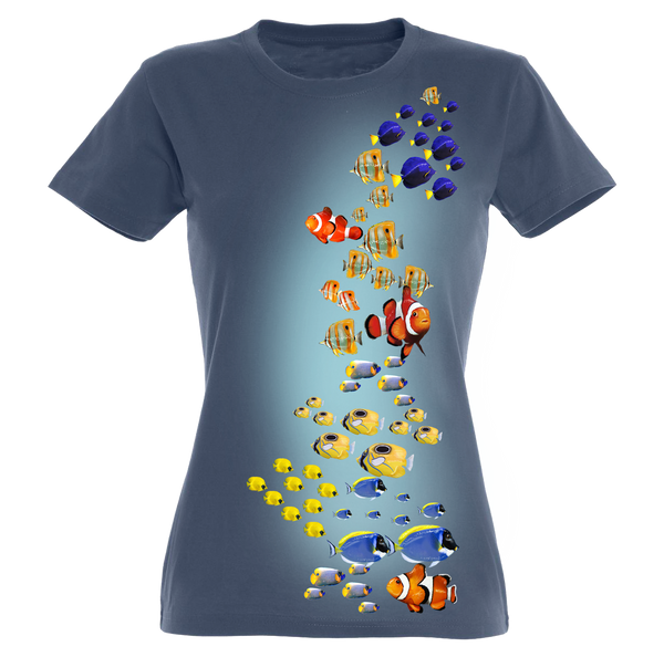 Fish Colors T-Shirt Women