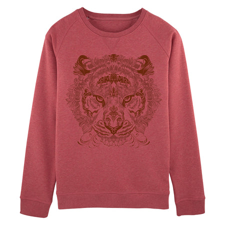 Tiger Mandala Sweatshirt Women