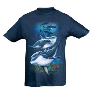 Dolphins Party T-Shirt Kids