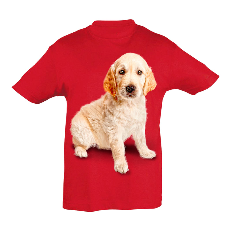 Golden Retriever Cub T-Shirt Kids