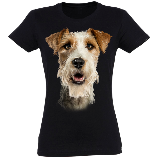 Jack Russell Longhaired T-Shirt Women