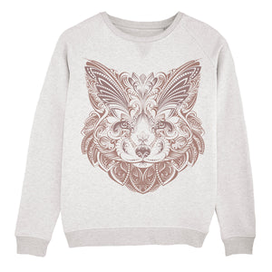 Fox Mandala Sweatshirt Women
