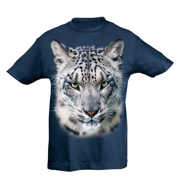 Snow Leopard T-Shirt Kids