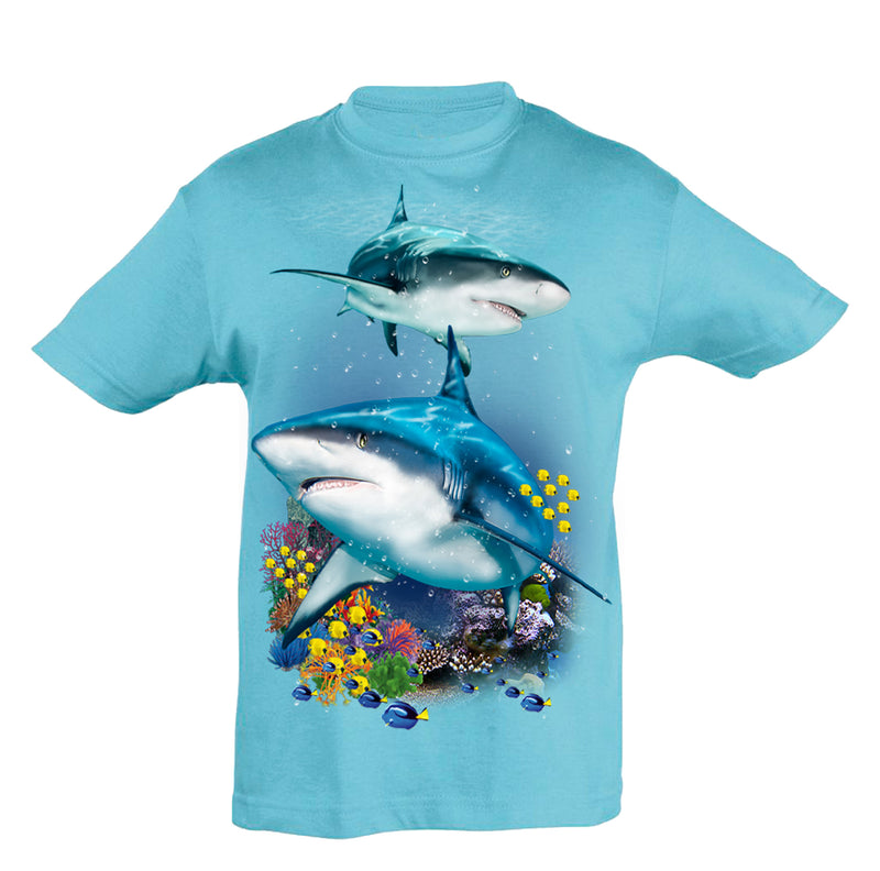 Sharks & Reef T-Shirt Kids