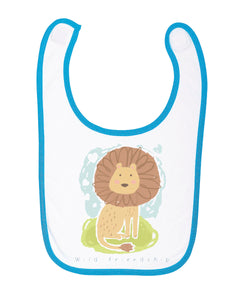 My Wild Friend Baby Bib