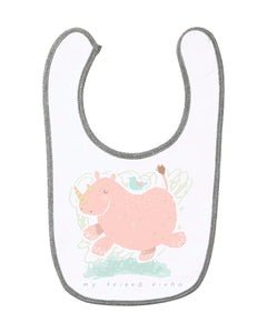 My Big Friend Baby Bib