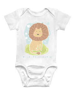 My Wild Friend Baby Bodysuit