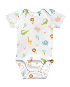 Jungle Party Baby Bodysuit