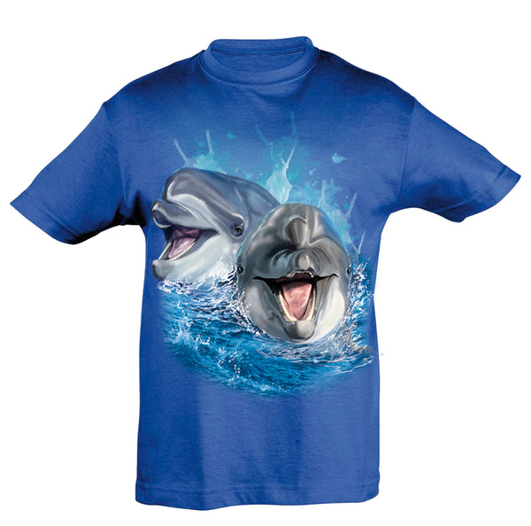 Dolphins Play T-Shirt Kids