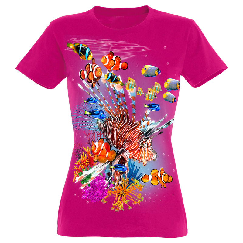 Tropical Colors T-Shirt Women