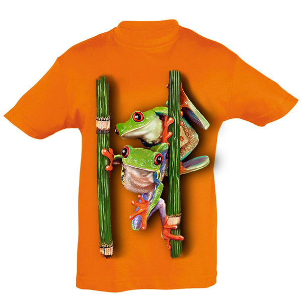 Frogs T-Shirt Kids