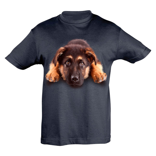 German Shepherd Cub T-Shirt Kids
