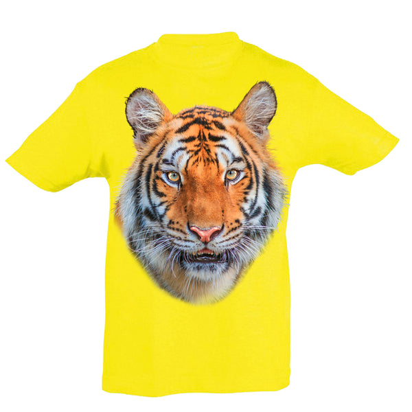 Tiger Face T-Shirt Kids