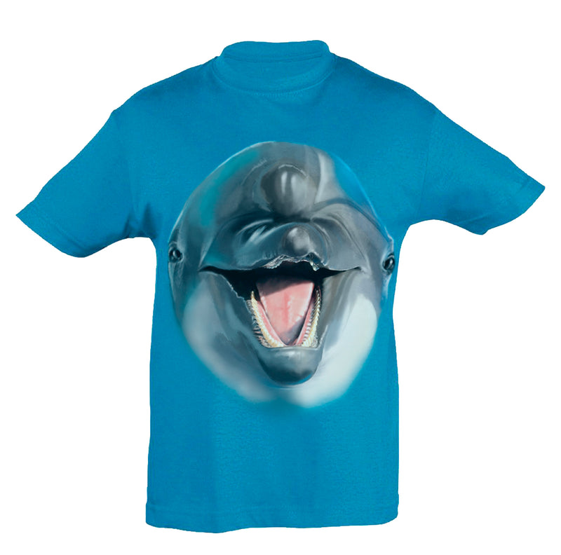 Dolphin Head T-Shirt Kids