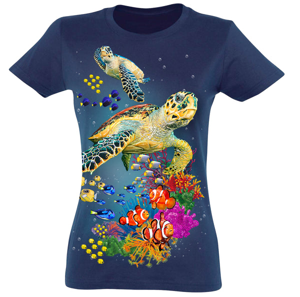 Turtles T-Shirt Women