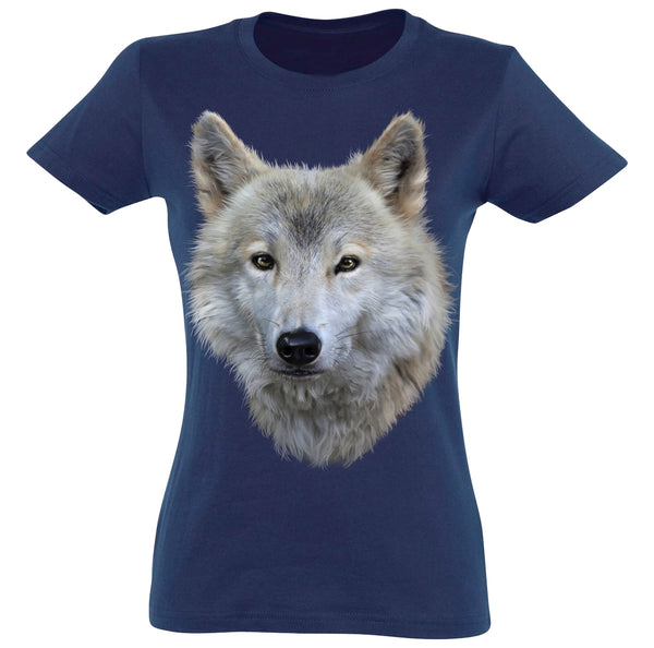 White Wolf T-Shirt Women