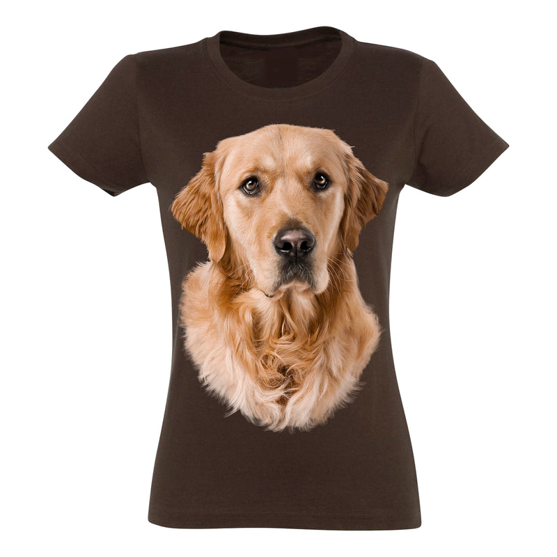 Golden Retriever T-Shirt Women