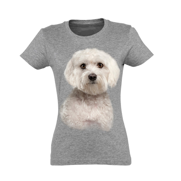 Bichon Maltese T-Shirt Women