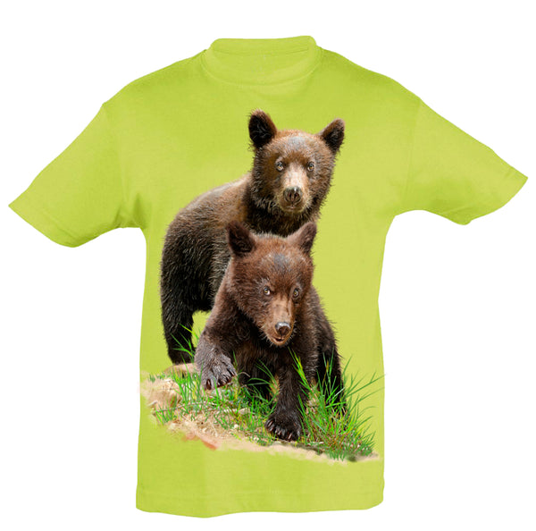 Grizzly Bear T-Shirt Kids