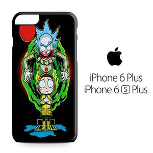 outlet store 051de 5bd71 Rick And Morty X Pennywise iPhone 6 Plus / 6S Plus Case