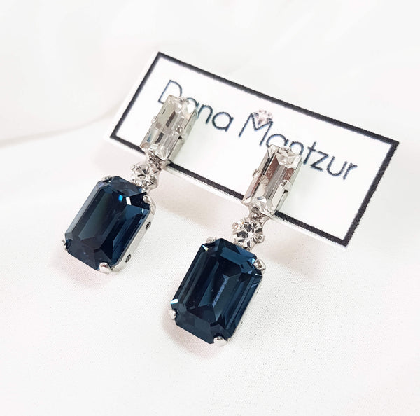 Crystal earrings, Belle earrings, Dana Mantzur
