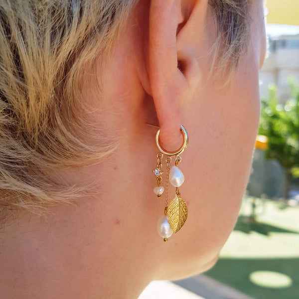 Every day hoop earrings, Rona Hoop Earrings, Dana Mantzur