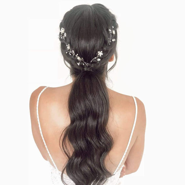 Pony tail hair clips, Sapir hair clips , The Lady Bride