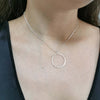 O ring choker, Circle karma chain, Dana Mantzur