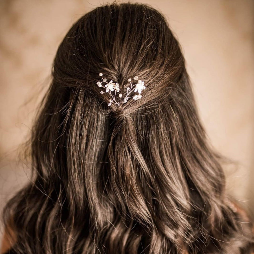 Wedding hair pin, Sapir hair clips , The Lady Bride