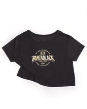 Vantablack Limited - Skull Women Crop Top (Charcoal) - SOLD OUT - Dirty Store